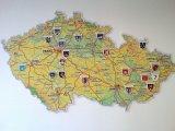 Mapa Kostelců